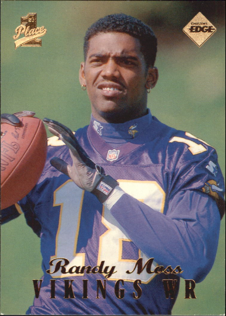 1998 Collector's Edge First Place #157 Randy Moss RC