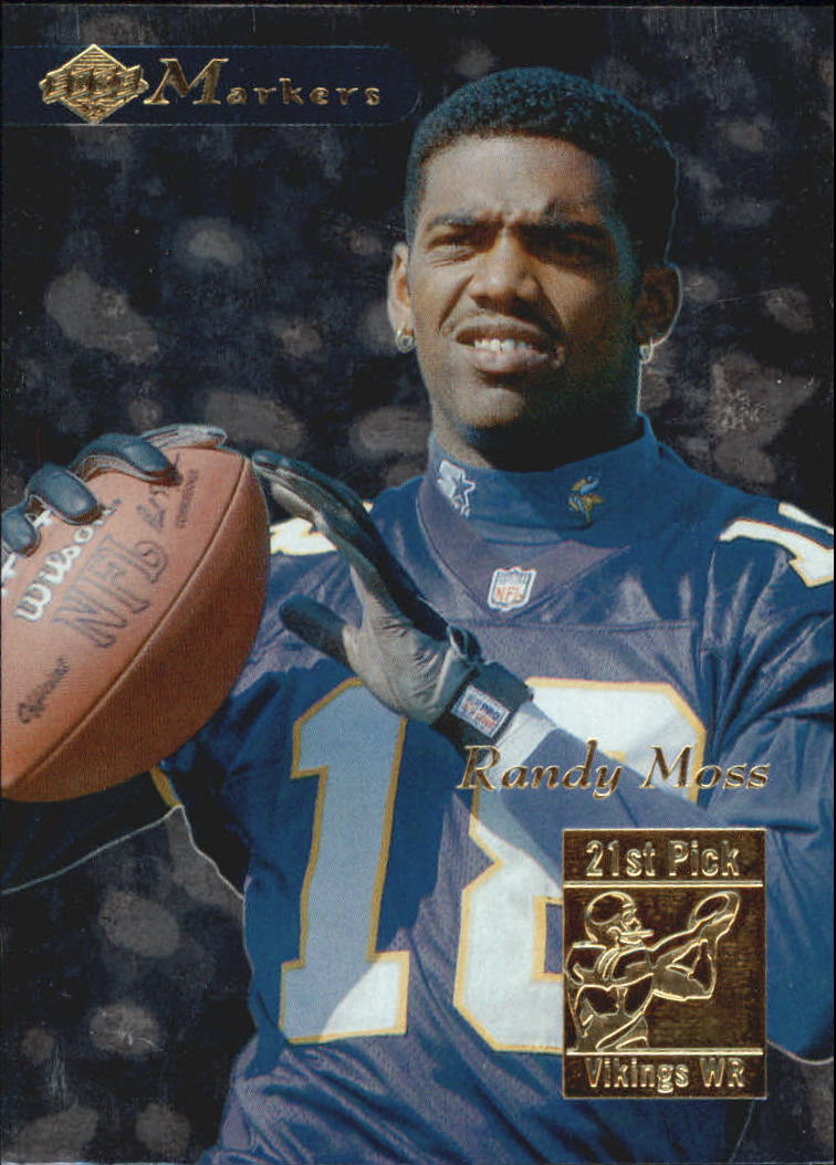 1998 Collector's Edge First Place Markers #18 Randy Moss