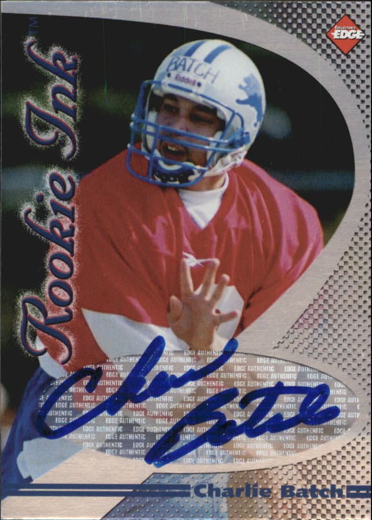 1998 Collector's Edge First Place Rookie Ink #7 Charlie Batch