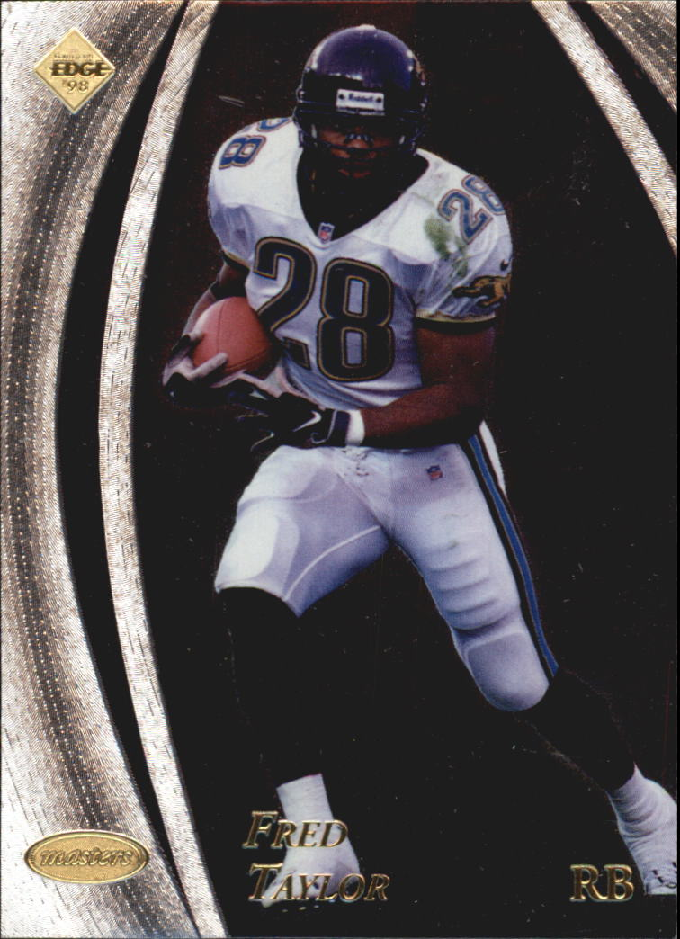 1998 Collector's Edge Masters #79 Fred Taylor RC