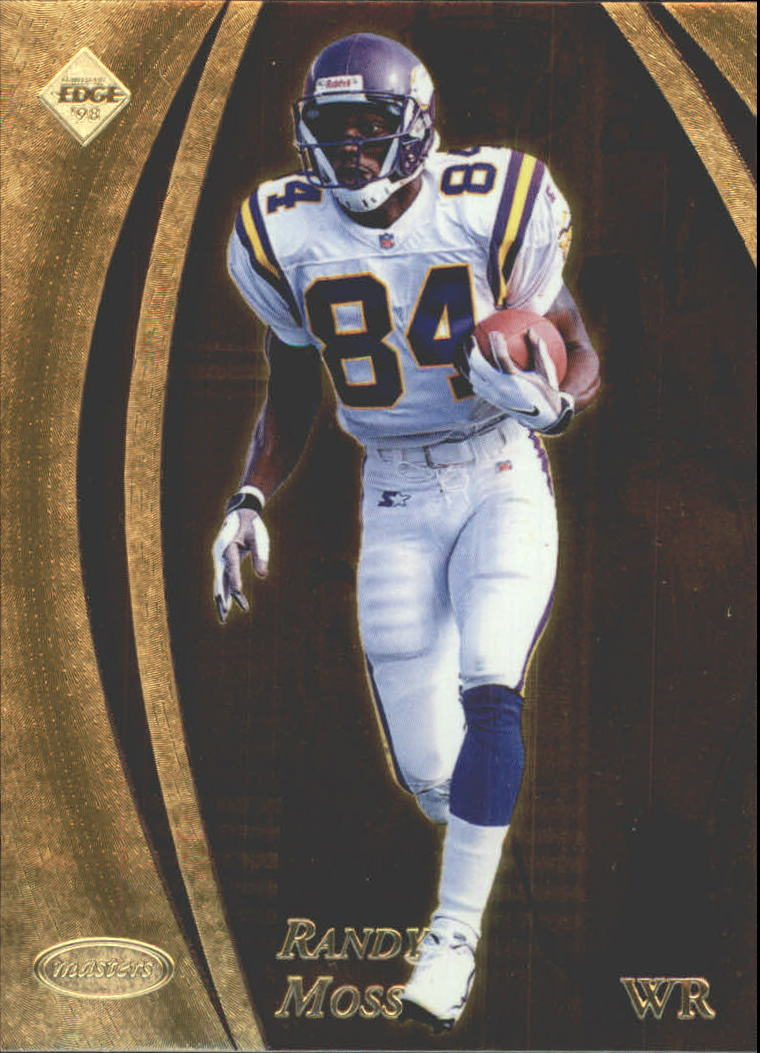 1998 Collector's Edge Masters Gold Redemption 100 #95 Randy Moss