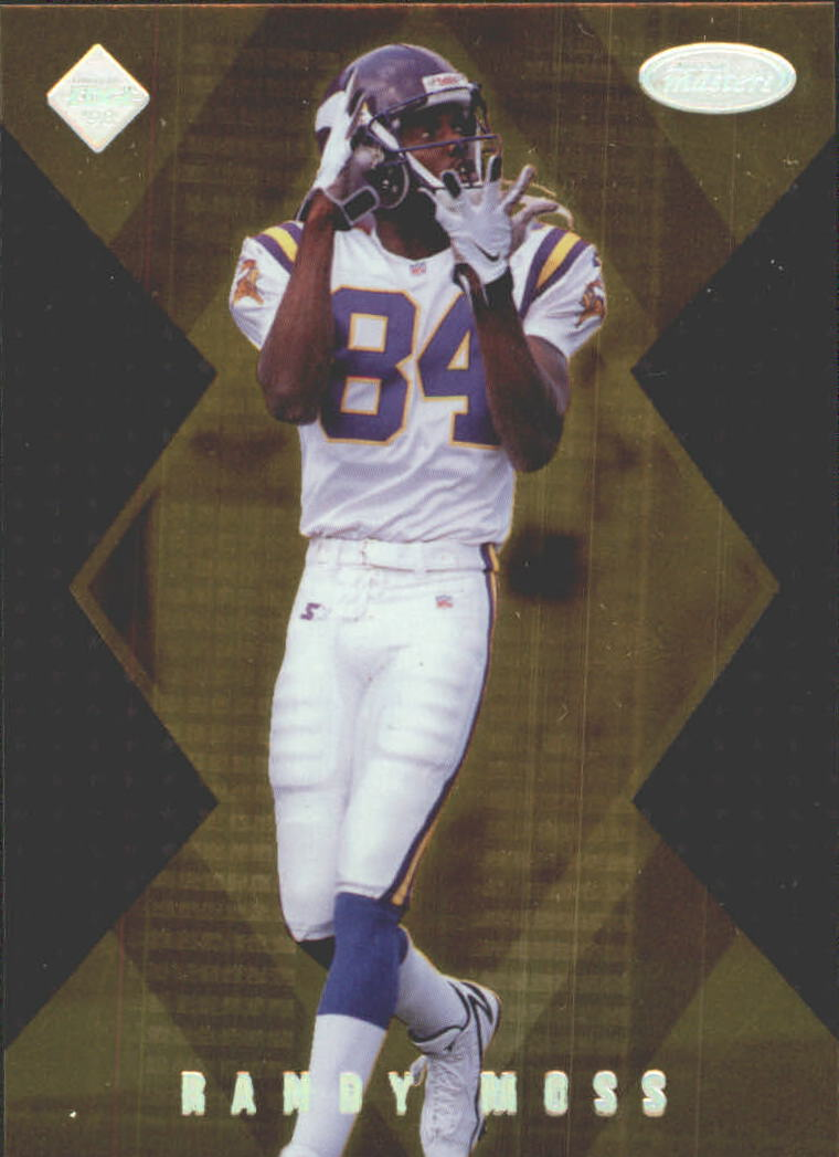1998 Collector's Edge Masters Gold Redemption 100 #186 Randy Moss SM