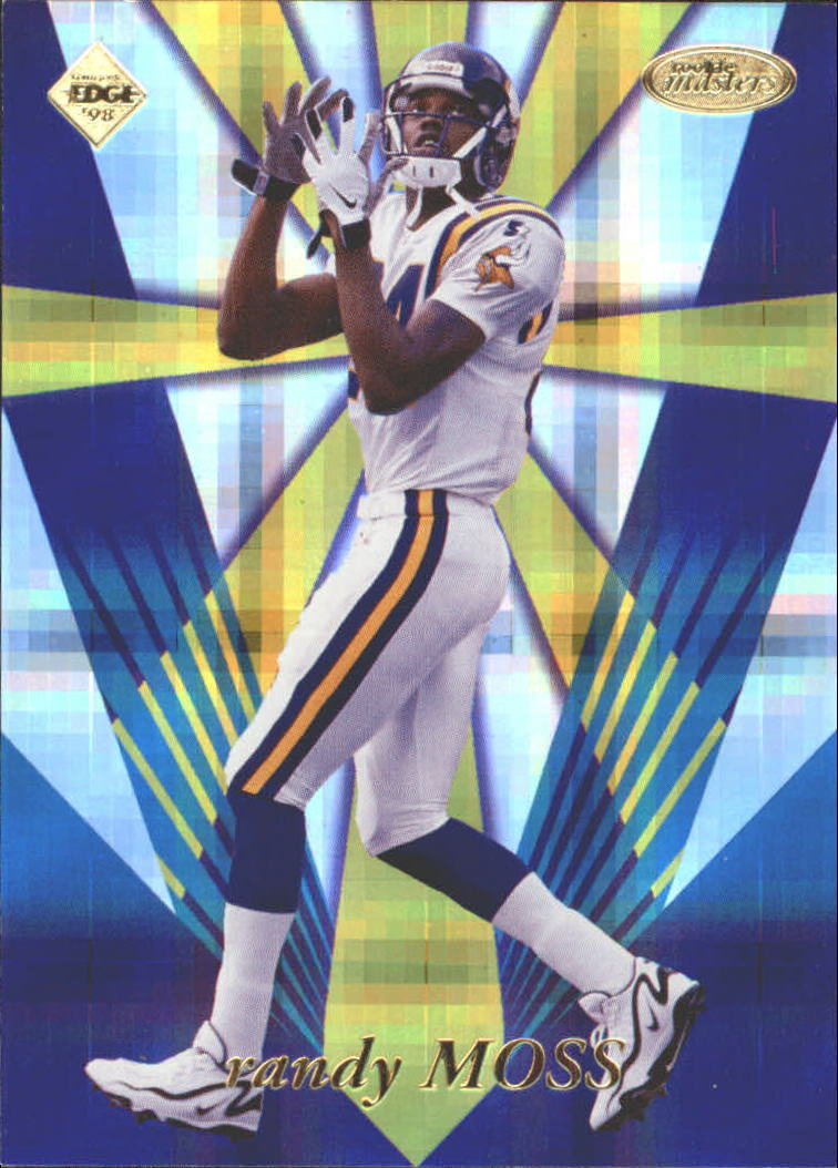 1998 Collector's Edge Masters Rookie Masters #RM5 Randy Moss
