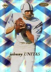 1998 Collector's Edge Masters Super Masters #SM17 Johnny Unitas