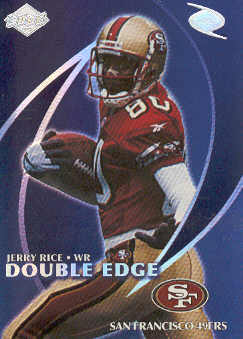 1998 Collector's Edge Odyssey Double Edge #1A J.Rice F/R.Moss