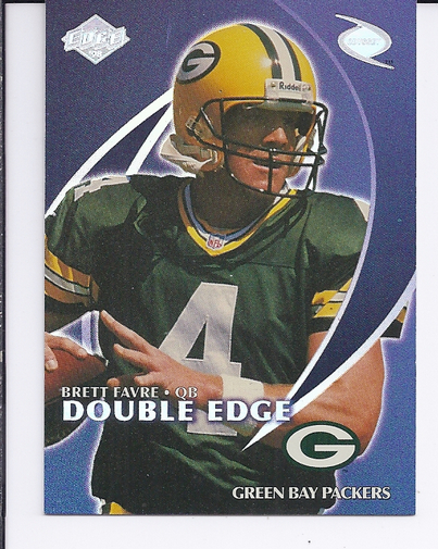 1998 Collector's Edge Odyssey Double Edge #2A B.Favre F/R.Leaf