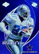1998 Collector's Edge Odyssey Double Edge #7A E.Smith F/R.Edwards