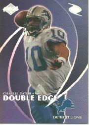 1998 Collector's Edge Odyssey Double Edge #10A D.Bledsoe F/C.Batch