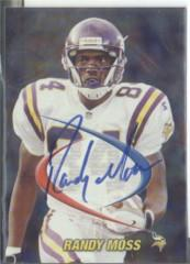 1998 Collector's Edge Odyssey Prodigies Autographs #23 Randy Moss