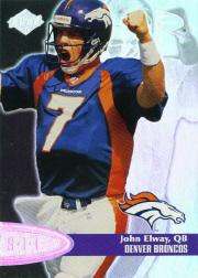 1998 Collector's Edge Odyssey Super Limited Edge #3 John Elway