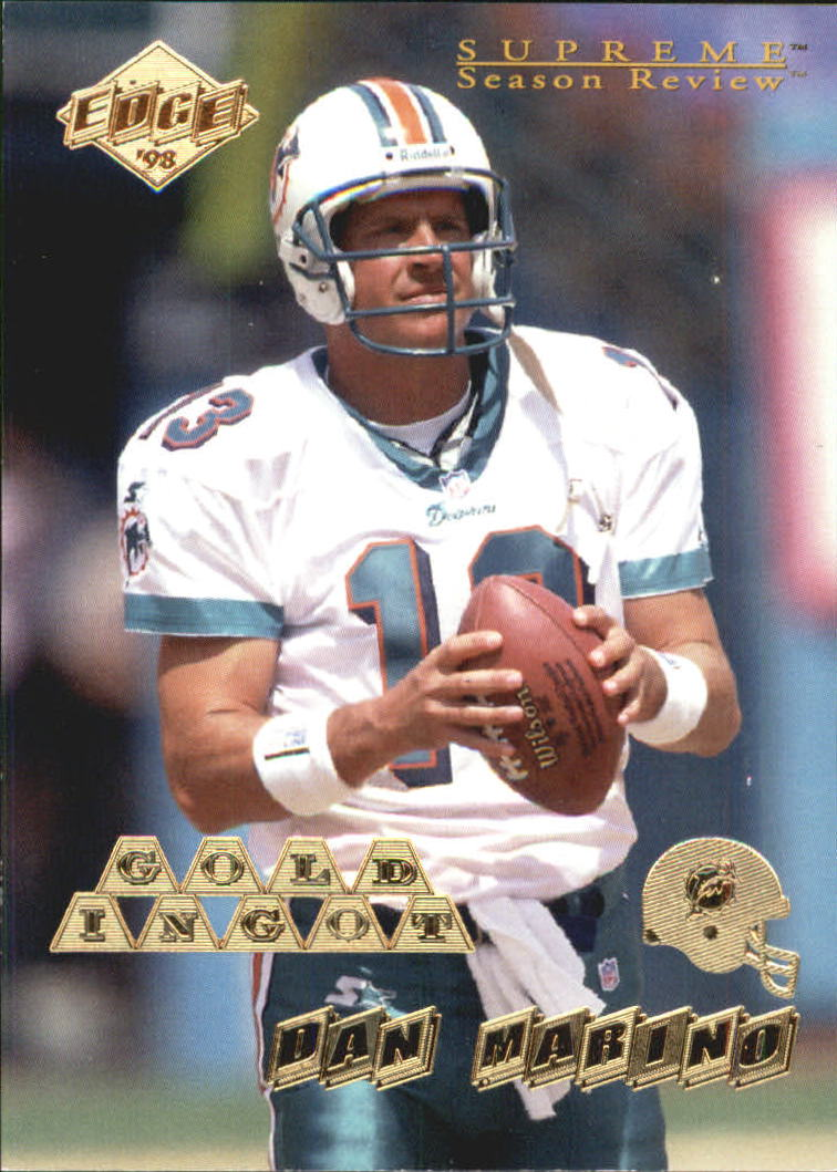 1998 CE Supreme Season Review Gold Ingot #90 Dan Marino