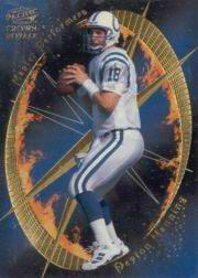 1998 Crown Royale Master Performers #9 Peyton Manning