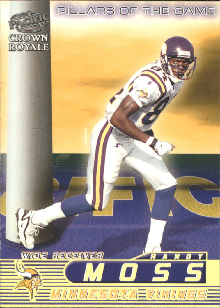 1998 Crown Royale Pillars of the Game #14 Randy Moss