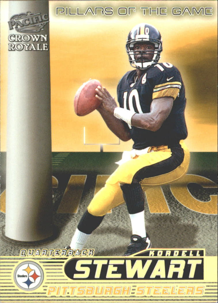 1998 Crown Royale Pillars of the Game #19 Kordell Stewart