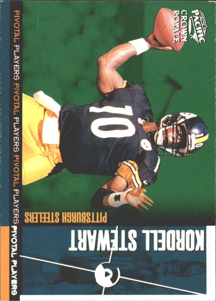 1998 Crown Royale Pivotal Players #21 Kordell Stewart