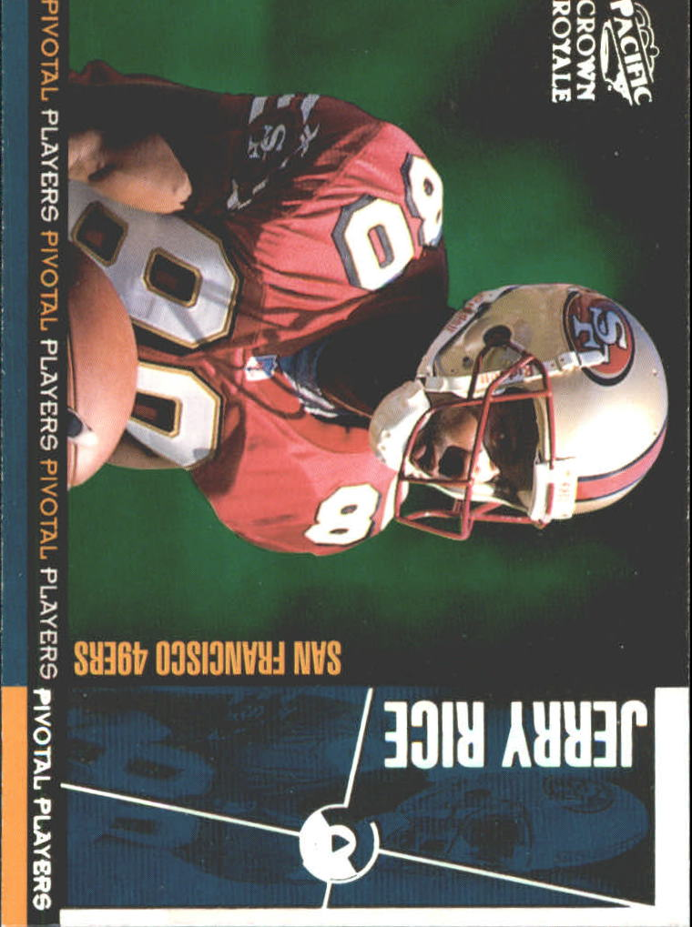 1998 Crown Royale Pivotal Players #23 Jerry Rice