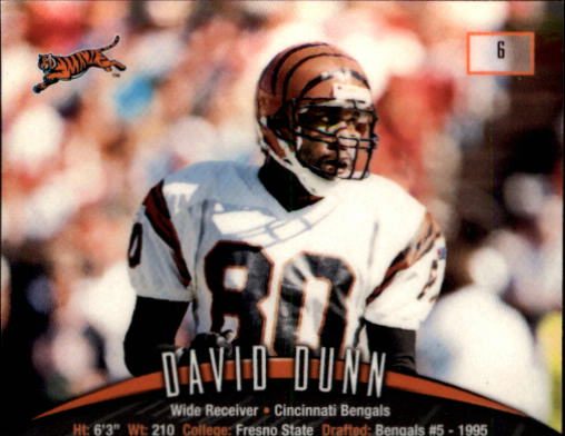 1998 Finest #6 David Dunn back image