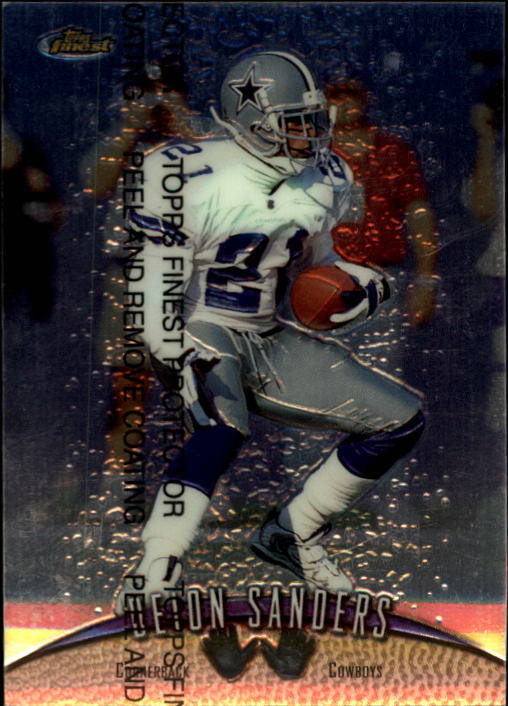 1998 Finest #36 Deion Sanders