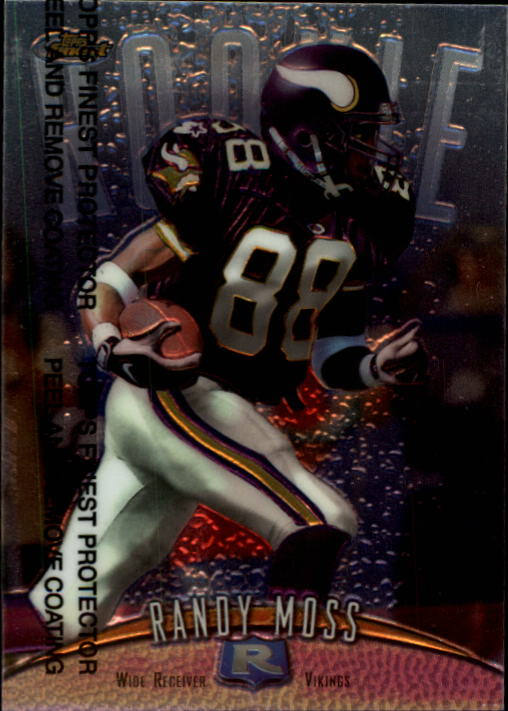1998 Finest #135 Randy Moss RC