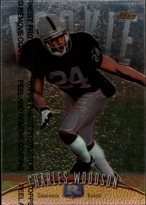 1998 Finest #142 Charles Woodson RC