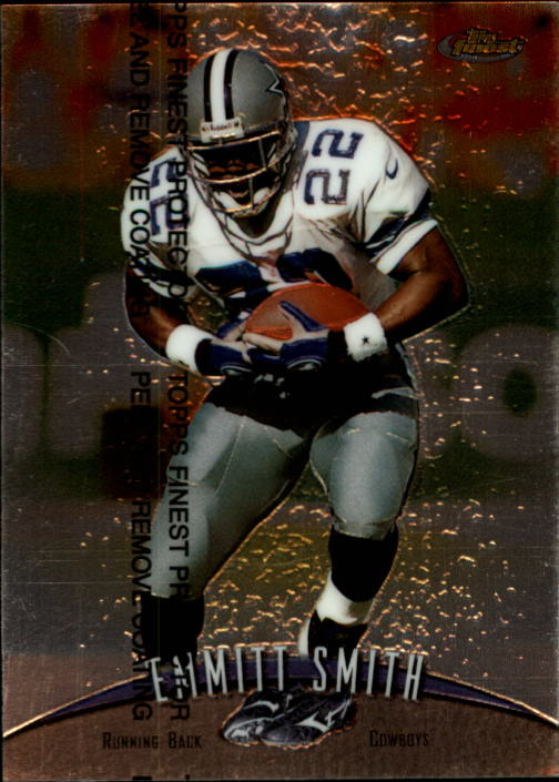 1998 Finest #160 Emmitt Smith