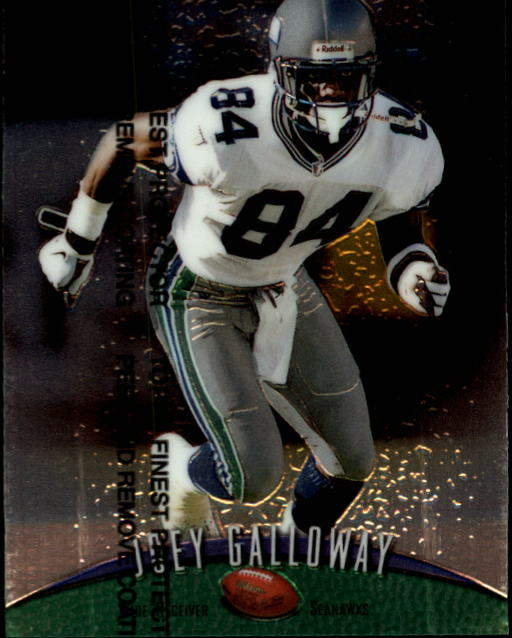 1998 Finest #213 Joey Galloway