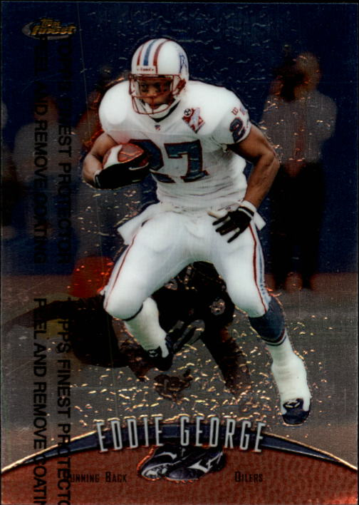 1998 Finest #250 Eddie George