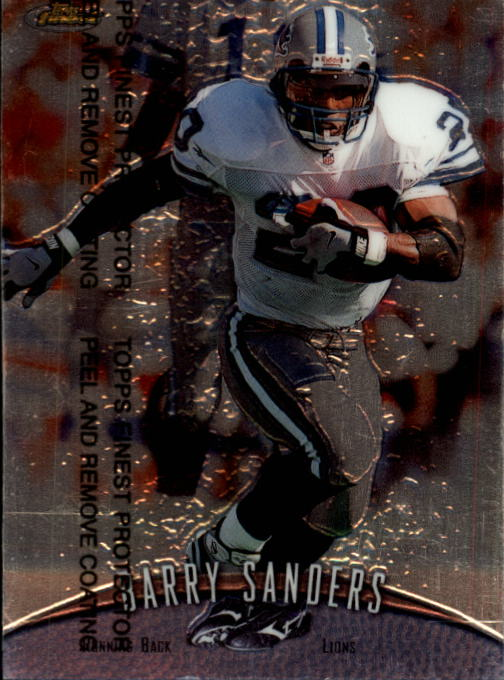 1998 Finest #270 Barry Sanders