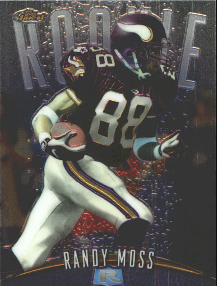 1998 Finest No-Protectors #135 Randy Moss