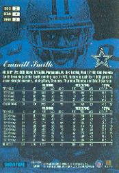 1998 Flair Showcase Row 3 #2 Emmitt Smith back image