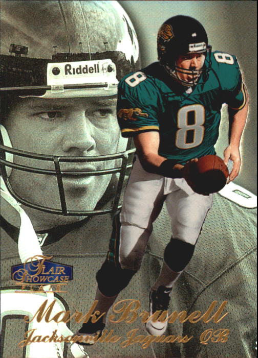 1998 Flair Showcase Row 3 #4 Mark Brunell