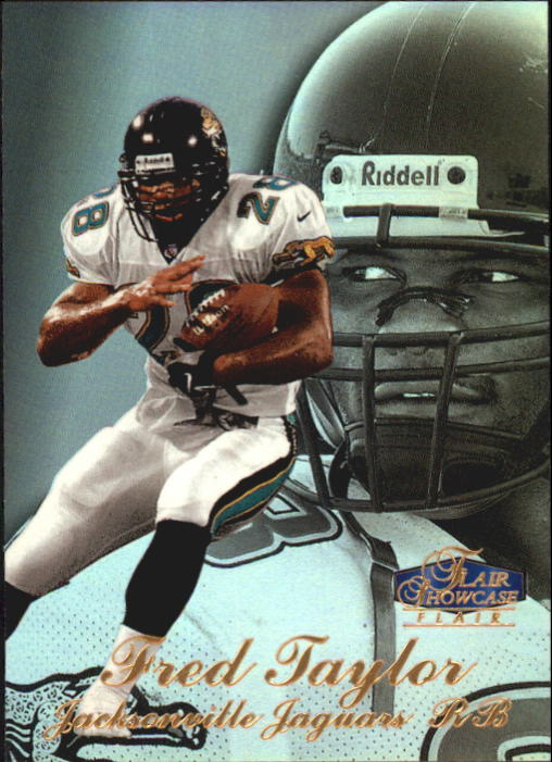 1998 Flair Showcase Row 3 #22 Fred Taylor RC