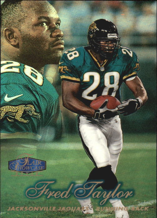 1998 Flair Showcase Row 2 #22 Fred Taylor