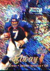 1998 Flair Showcase Row 1 #7 John Elway