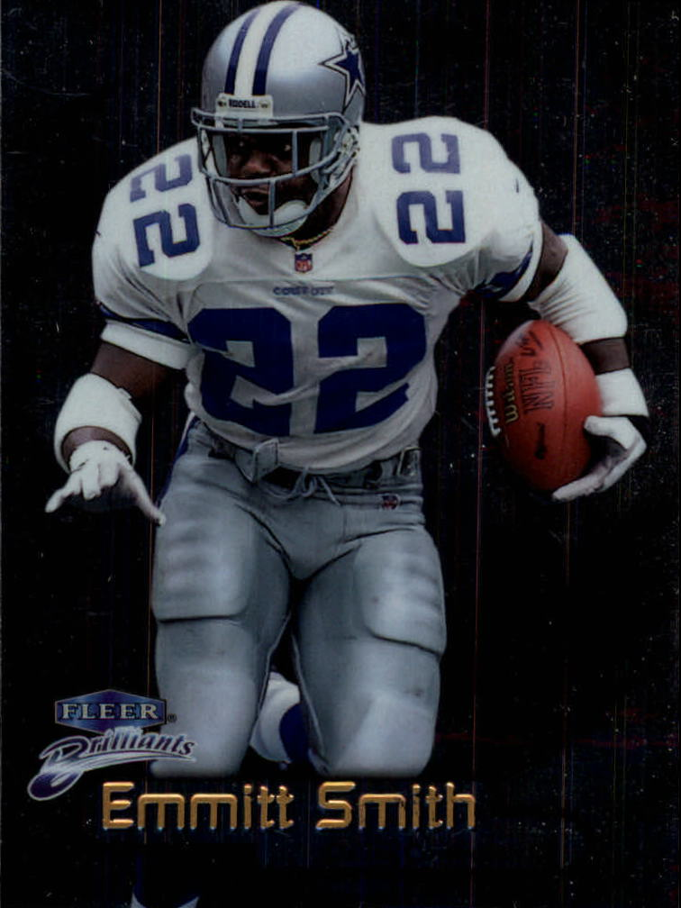 1998 Fleer Brilliants #4 Emmitt Smith
