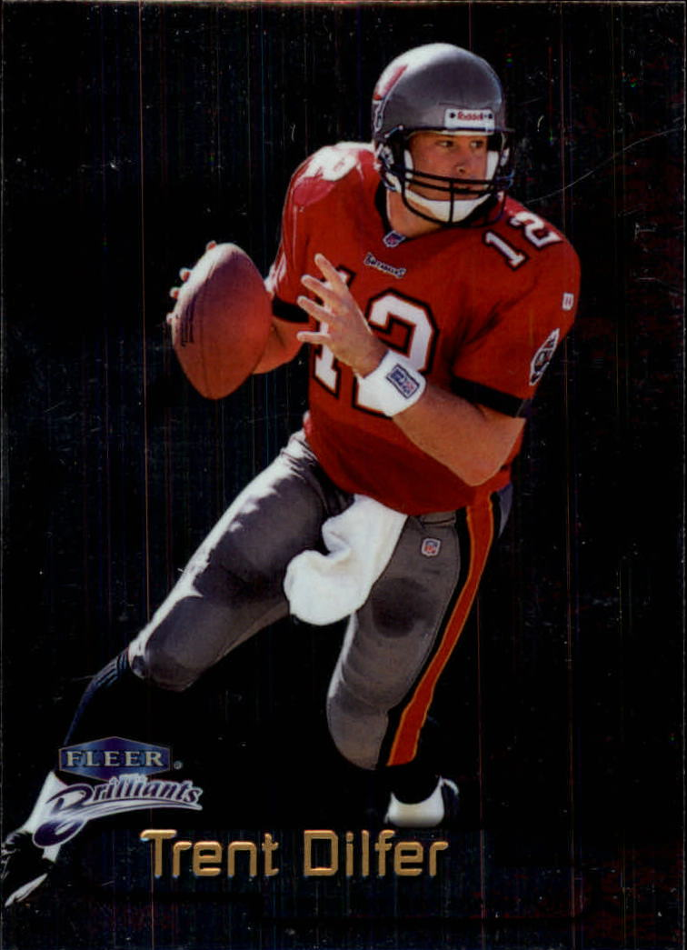 1998 Fleer Brilliants #12 Trent Dilfer