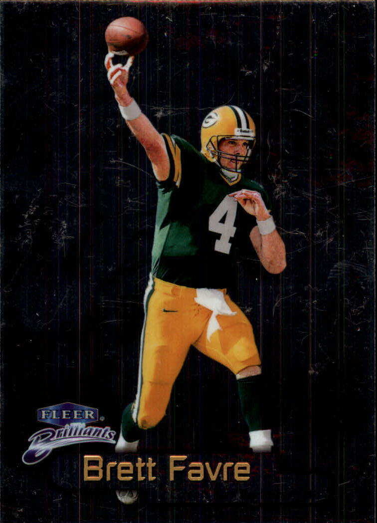 1998 Fleer Brilliants #21 Brett Favre
