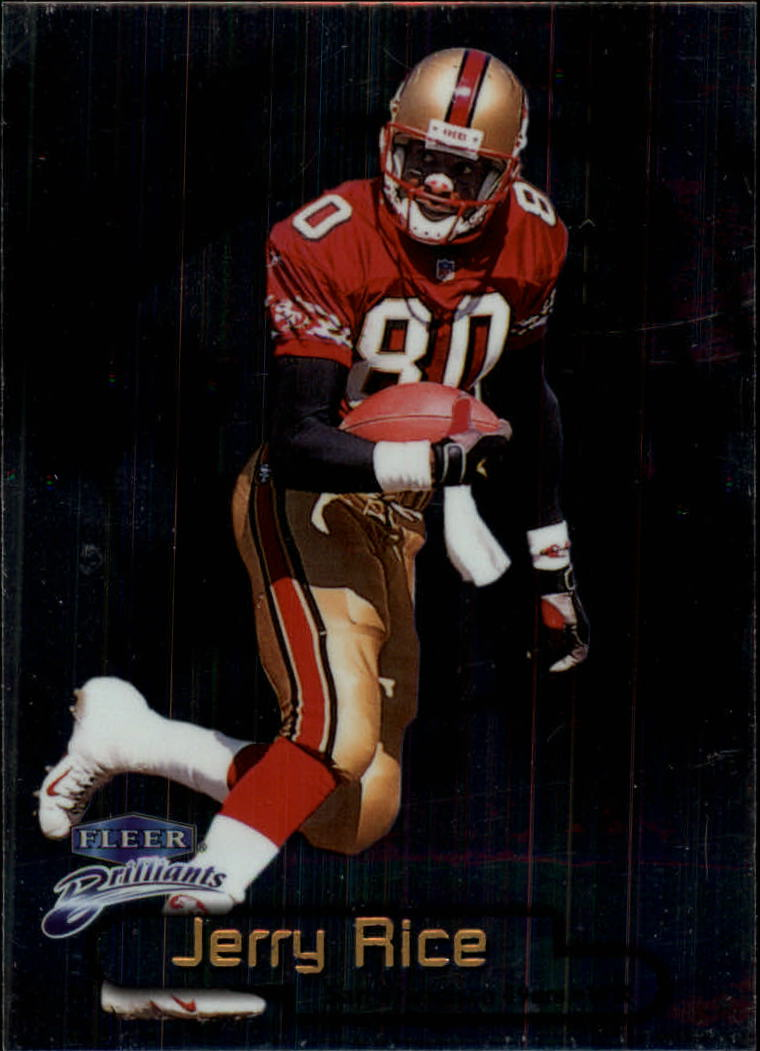 1998 Fleer Brilliants #60 Jerry Rice