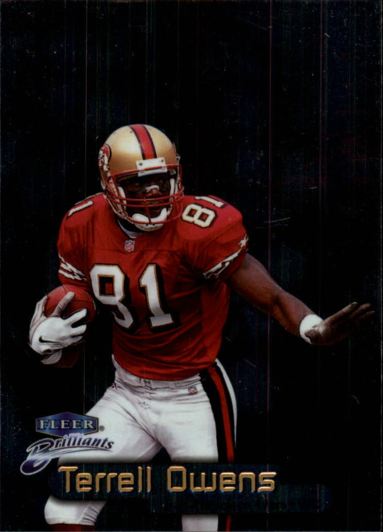 1998 Fleer Brilliants #95 Terrell Owens