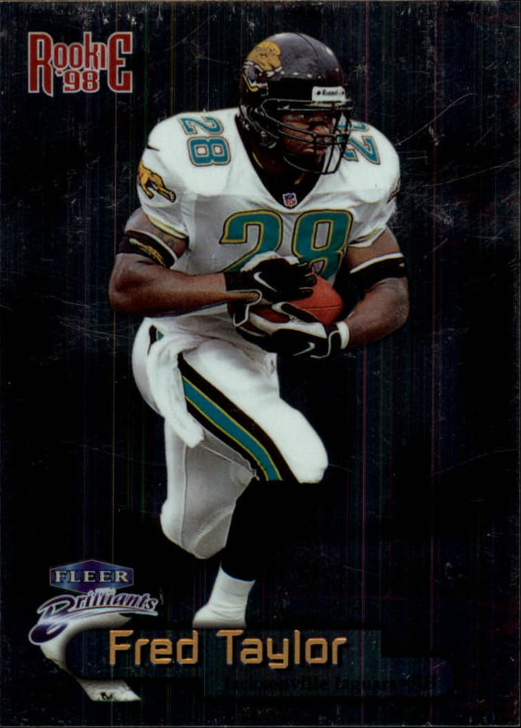 1998 Fleer Brilliants #139 Fred Taylor RC