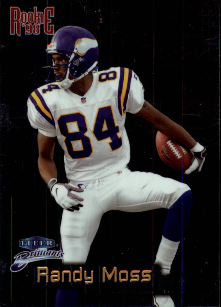 1998 Fleer Brilliants #140 Randy Moss RC