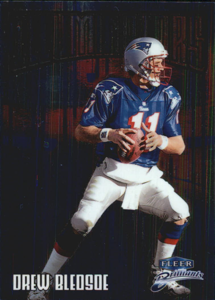 1998 Fleer Brilliants Illuminators #6 Drew Bledsoe