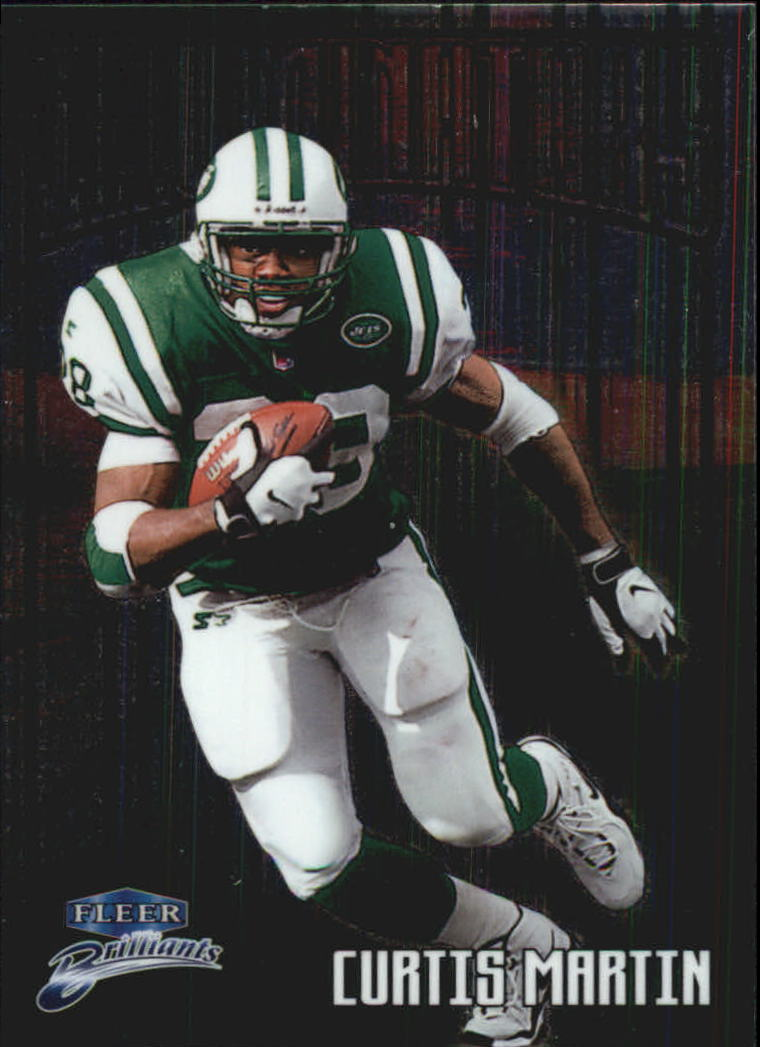 1998 Fleer Brilliants Illuminators #7 Curtis Martin