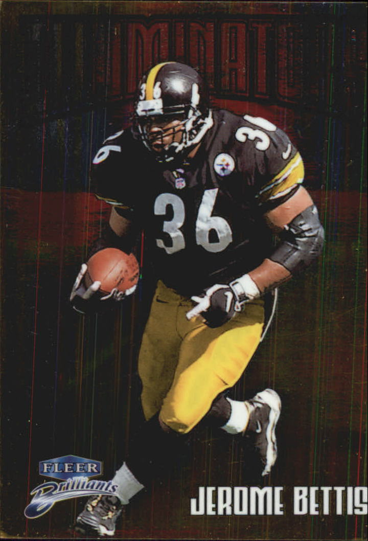 1998 Fleer Brilliants Illuminators #9 Jerome Bettis