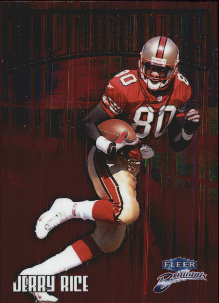 1998 Fleer Brilliants Illuminators #13 Jerry Rice