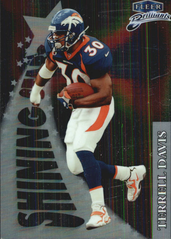 1998 Fleer Brilliants Shining Stars #1 Terrell Davis