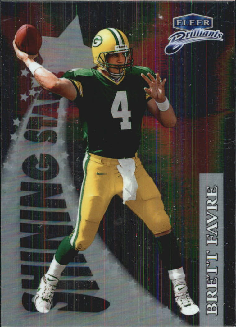 1998 Fleer Brilliants Shining Stars #5 Brett Favre