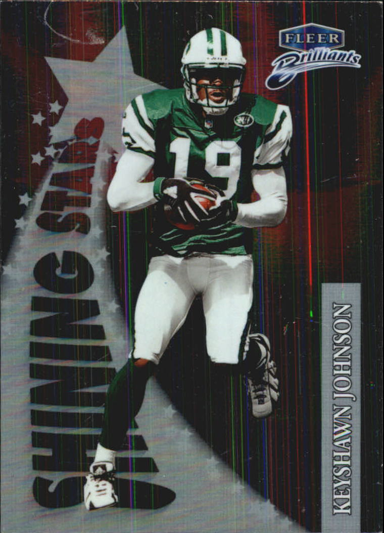 1998 Fleer Brilliants Shining Stars #12 Keyshawn Johnson