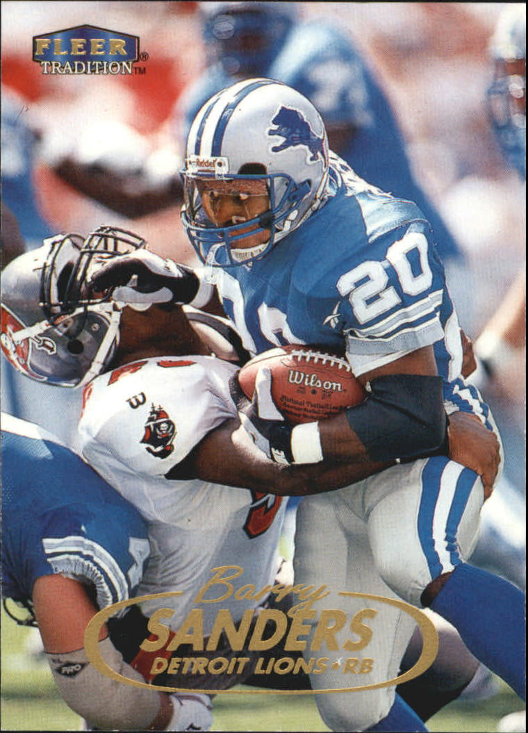 1998 Fleer Tradition #2 Barry Sanders