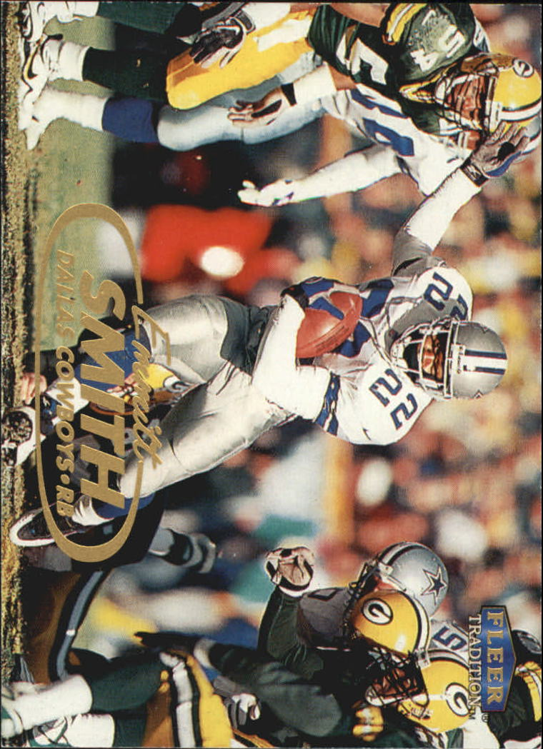 1998 Fleer Tradition #4 Emmitt Smith